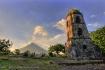 Mt. Mayon volcano...