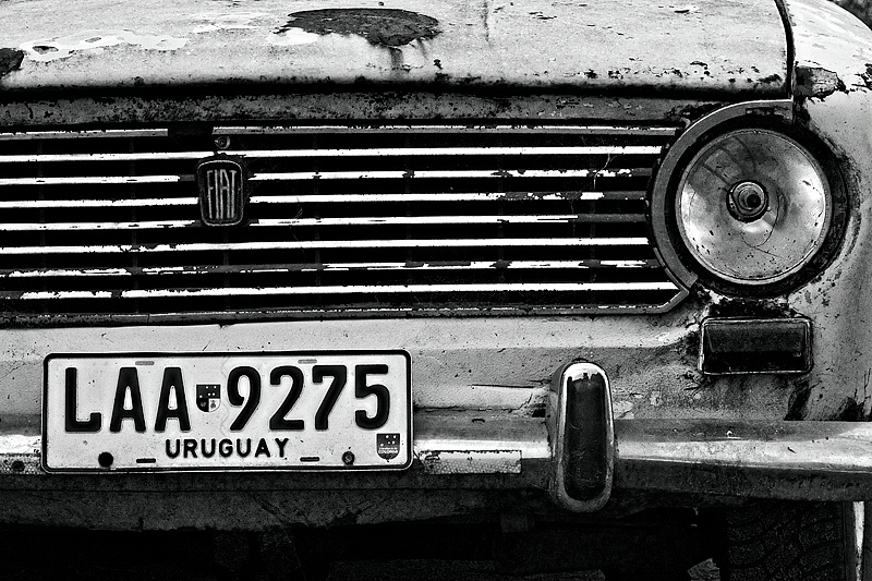 Rusty Old Fiat