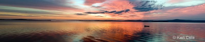Lake Champlain Sunrise - ID: 10548084 © Ken Cole