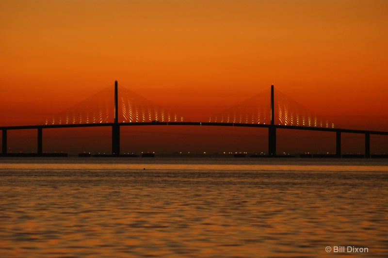 Dawning of a Sunrise At the Skyway - ID: 10550239 © William E. Dixon