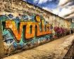 Graffiti in Bogot...