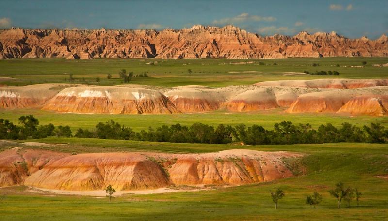 Triple Layer, Badlands National Park, South Dakota - ID: 10696885 © Martin L. Heavner