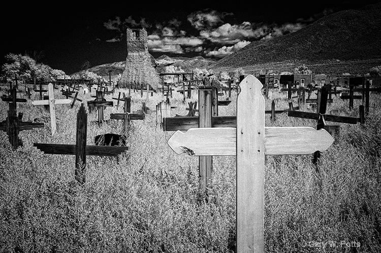 Taos Pueblo Cemetery - ID: 10877362 © Gary W. Potts