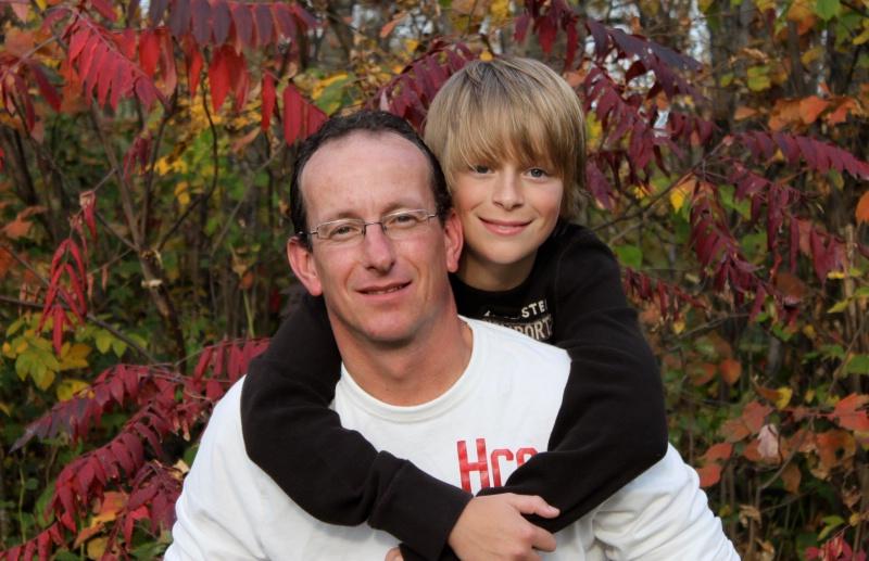 A Boy and His Dad - ID: 10959610 © Sheryl K. Larson