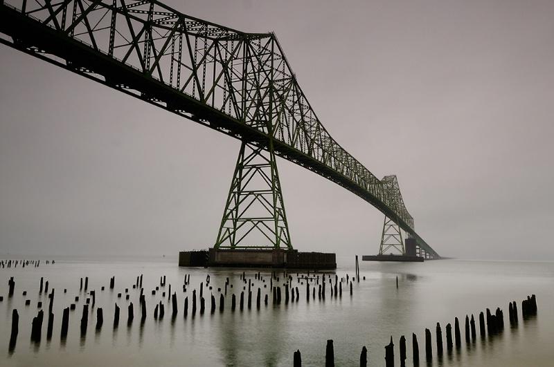 Astoria Bridge Into the Fog - ID: 10964905 © Ron Heusser