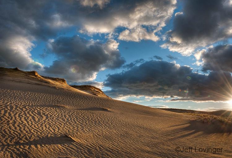 Dunes at Sunset - ID: 10992135 © Jeff Lovinger