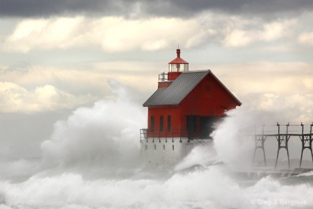 Photography Contest Grand Prize Winner - October 2010: Great lake storm - #8553-2a