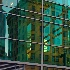 © John W. Davis PhotoID # 11127218: blue reflecting building 3352