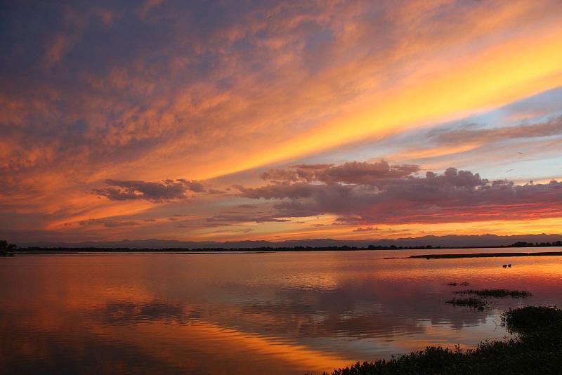 Barr Lake Sunset 3