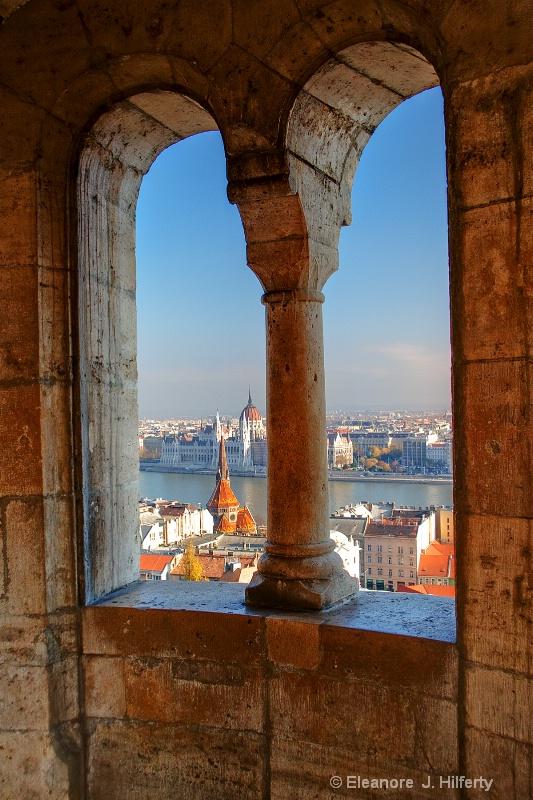 View of Danube from Fisherman's Bastion - ID: 11137849 © Eleanore J. Hilferty