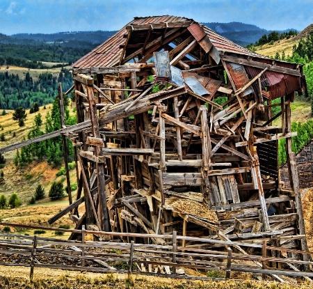 Goldmine Goldfield CO