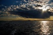 Sunset on the wat...
