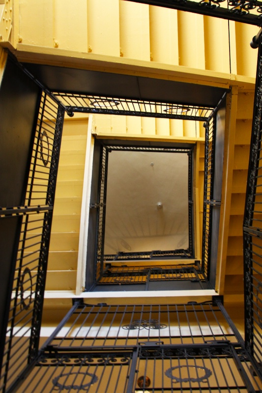 Staircase inside the Old Arizona State Capitol