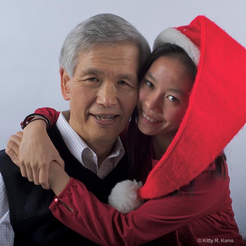 Dad, Best Christmas Present of All - ID: 11249841 © Kitty R. Kono