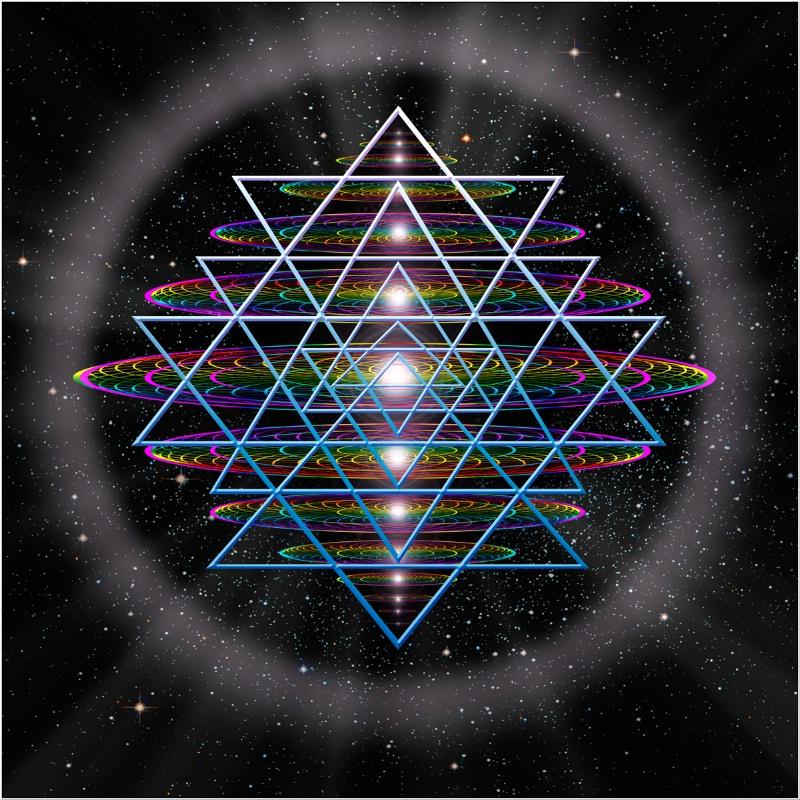 Sacred Geometry 9 - ID: 11278935 © Endre Balogh