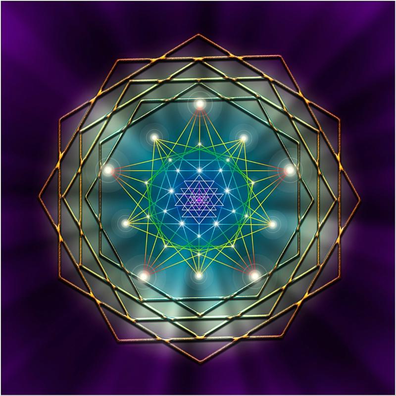 Sacred Geometry 11 - ID: 11285935 © Endre Balogh