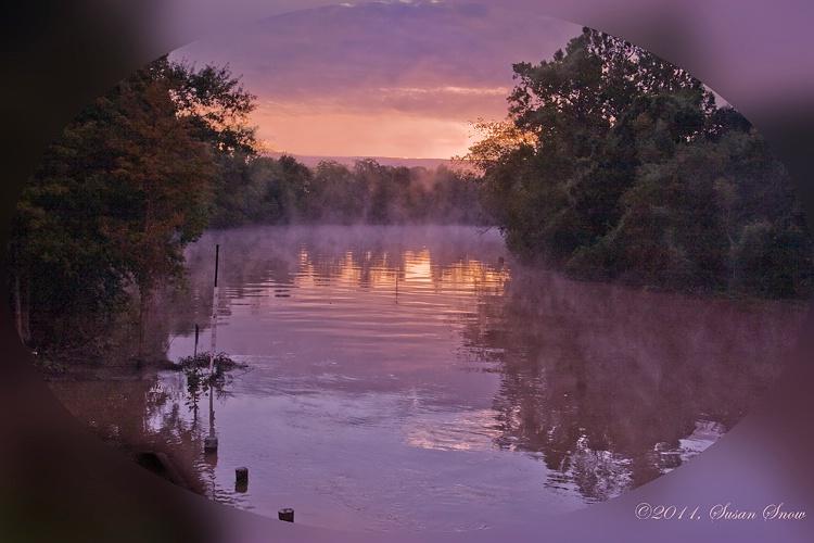 Sunrise on Vermilion River
