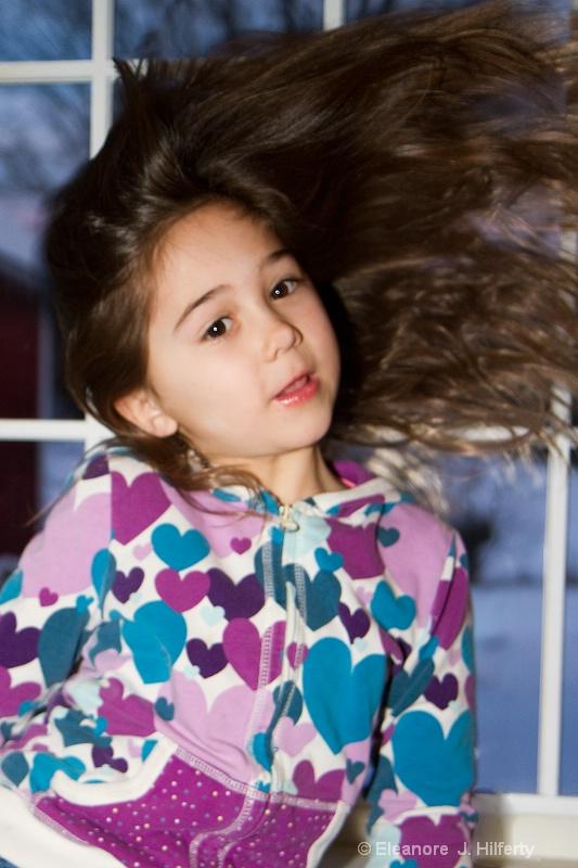 Ella's hairography - ID: 11315621 © Eleanore J. Hilferty