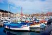 colourful boats i...