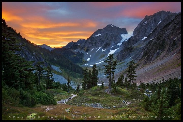 Cascade Pass Sunrise