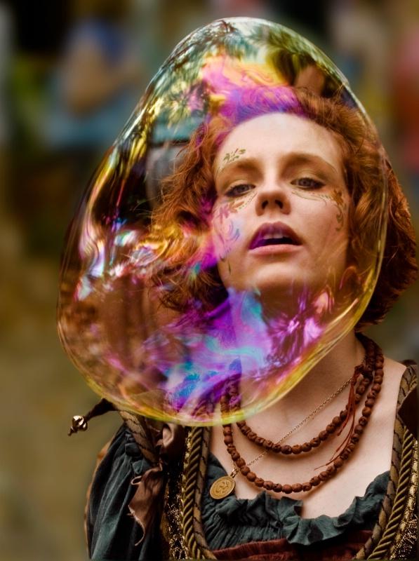 Soap Bubble Performer - ID: 11355643 © Joseph T. Pilonero