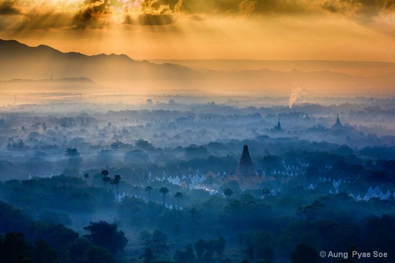 Sunrise of Mandalay City !!!