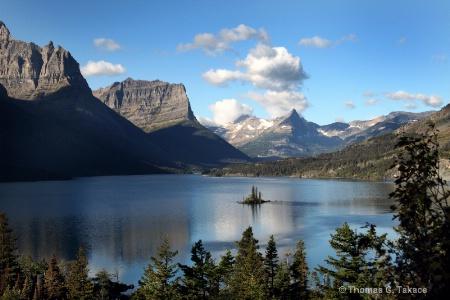 Saint Mary Lake - Glacier National Park