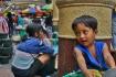 Shy Young Vendor