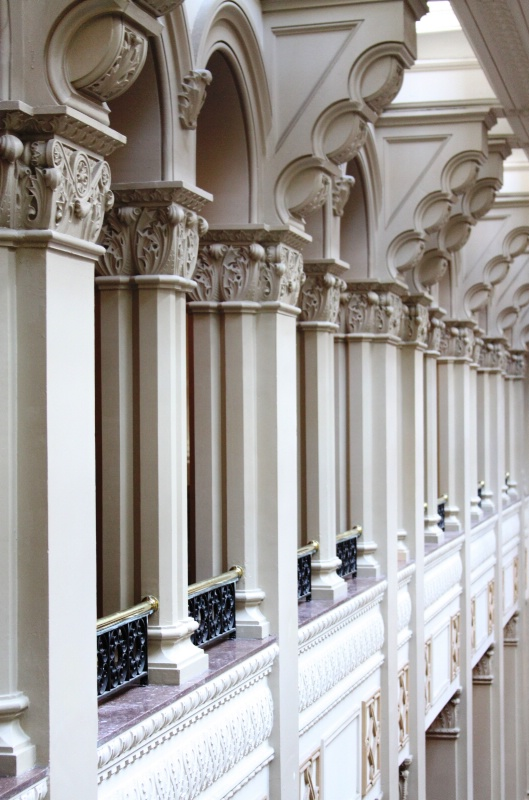 Columns of the Landmark Center