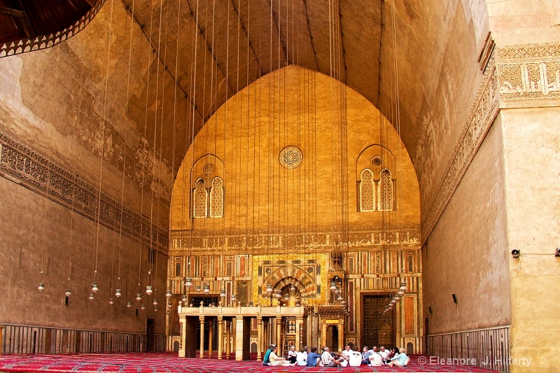 Inside the Mosque of Sultan Hassan - ID: 11442038 © Eleanore J. Hilferty