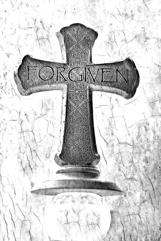Forgiven in Black & White - ID: 11452668 © Susan M. Reynolds