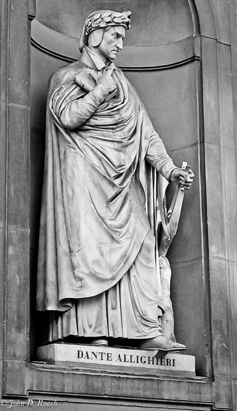 Dante Allighieri -- Florence, Italy - ID: 11497626 © John D. Roach