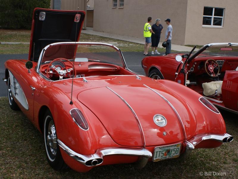 1958 Chevy Corvette Convertible - ID: 11517896 © William E. Dixon