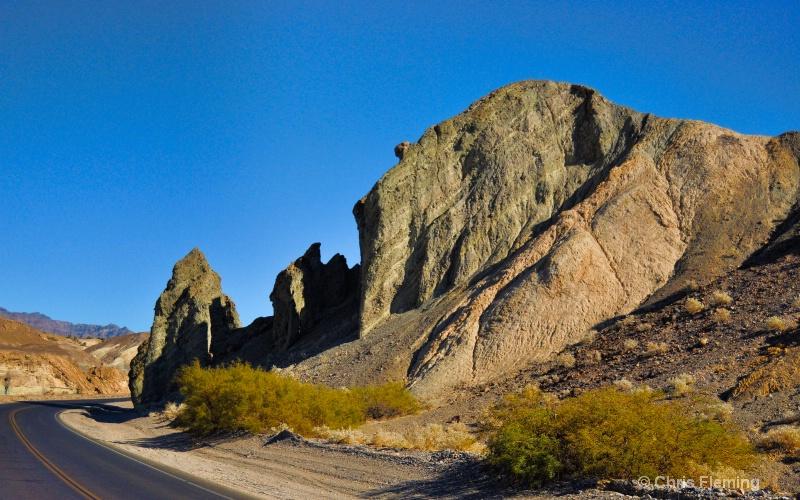 Death Valley Roadway