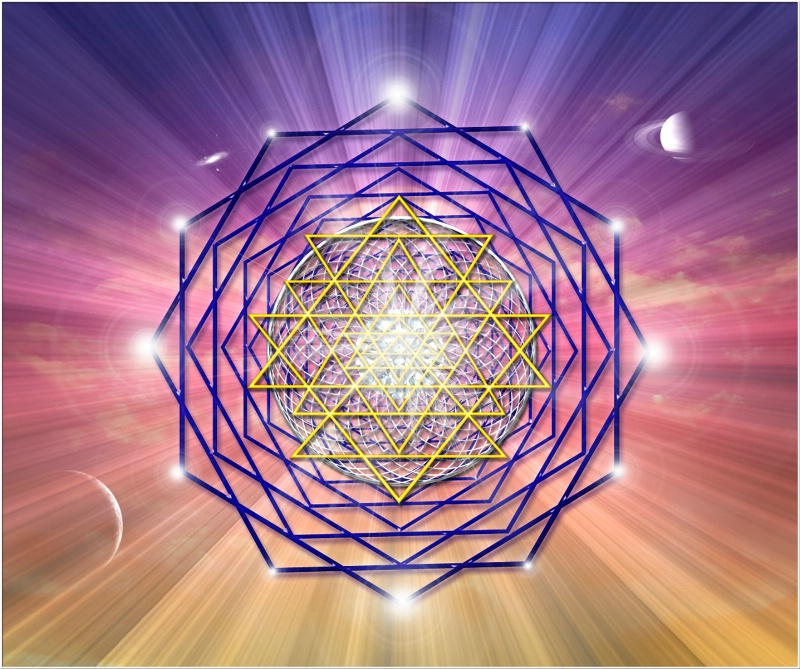 Sacred Geometry 1 - ID: 11636368 © Endre Balogh