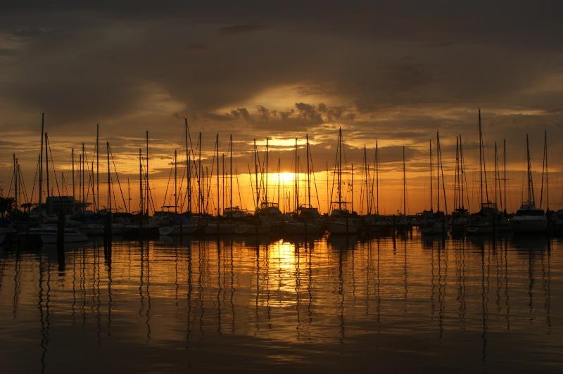 Reflective Marina Sunrise - ID: 11636601 © William E. Dixon