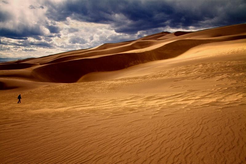 Great Sand Dunes National Park, CO - ID: 11695844 © Karen Celella