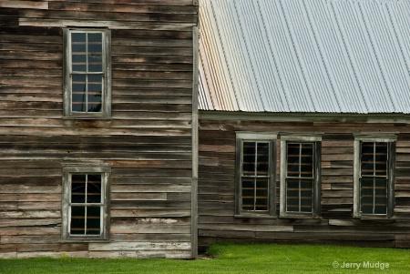 Old Mill Windows