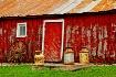 Red barn & milk c...