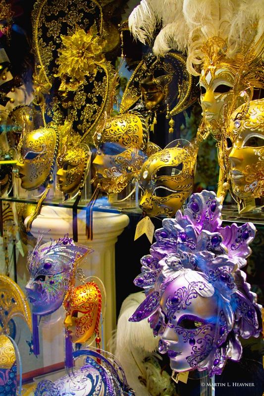 Carnival Masks, Venice - ID: 11797795 © Martin L. Heavner