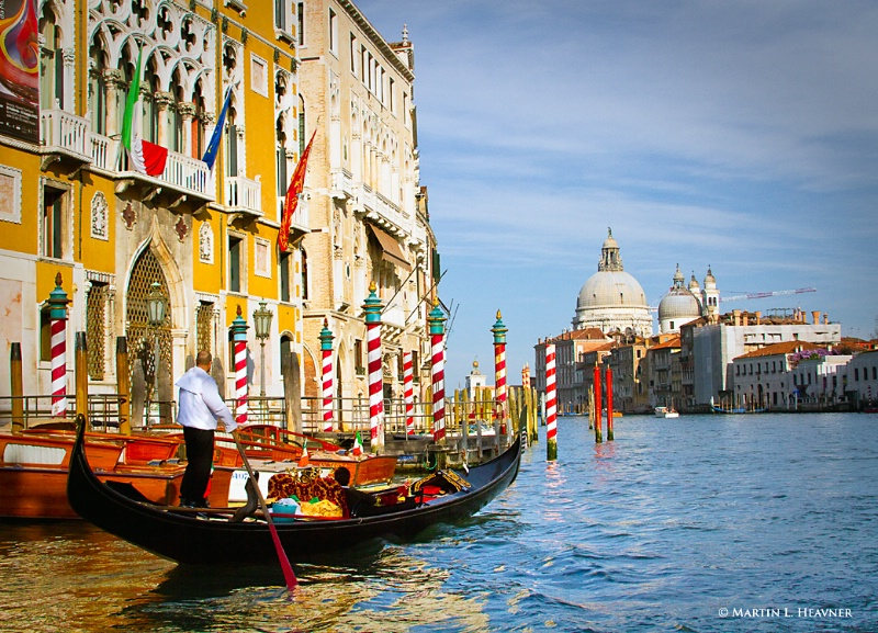Rowing through Time, Grand Canal, Venice - ID: 11798002 © Martin L. Heavner