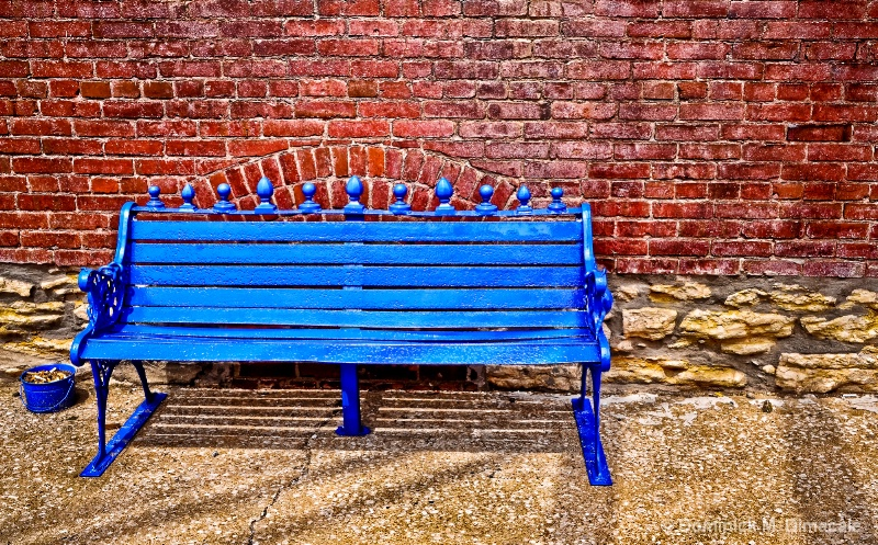 ~ THE BLUE CHAIR ~ - ID: 11816245 © Dominick M. Dimacale