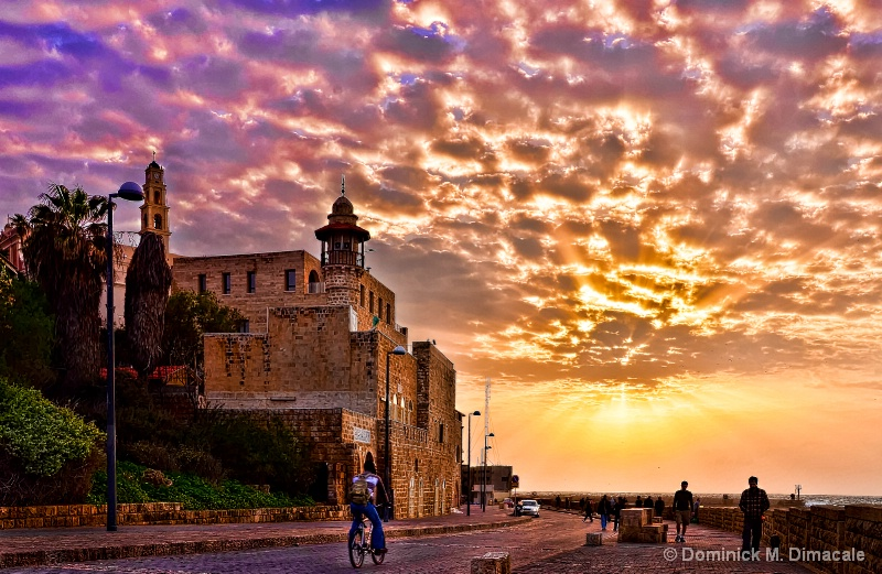 ~ SUNSET IN TEL AVIV, ISRAEL ~ - ID: 11834431 © Dominick M. Dimacale