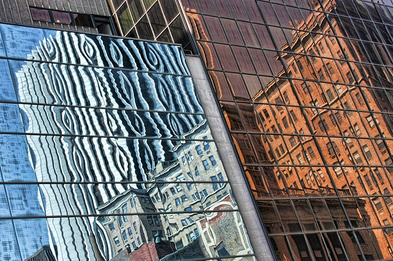 Downtown Mirrored