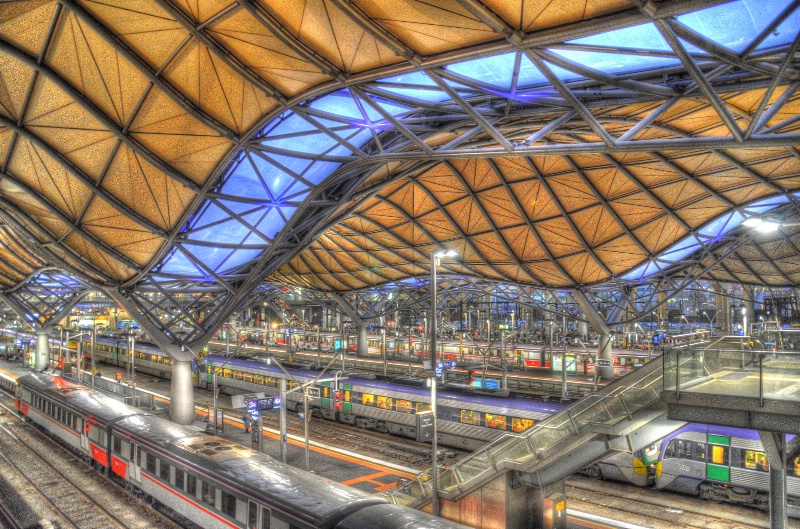 Southern Cross Rail Station