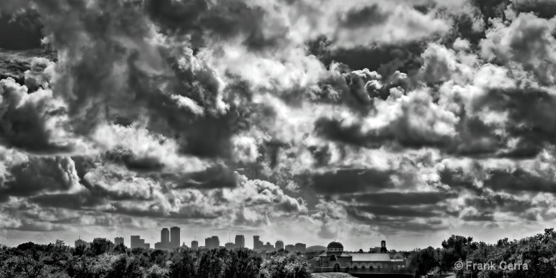 sky over new orleans