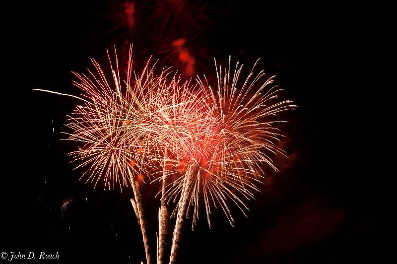 2011 july 4 fireworks  12 - ID: 11940393 © John D. Roach