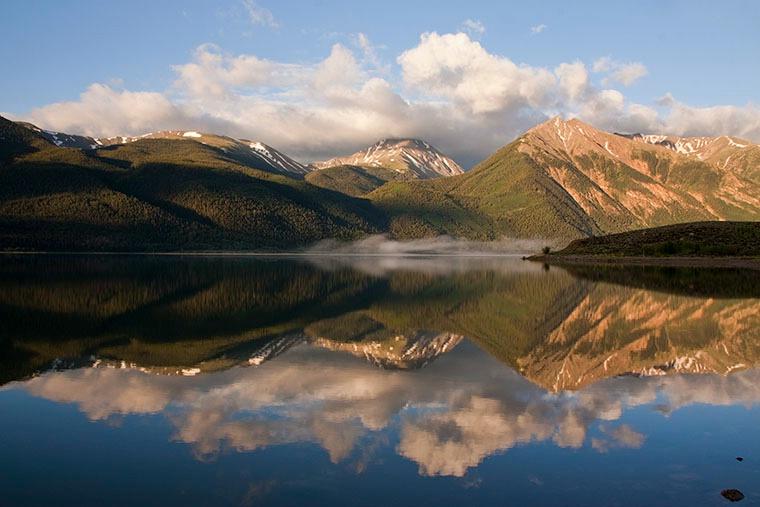 Twin Lakes Reflection 1