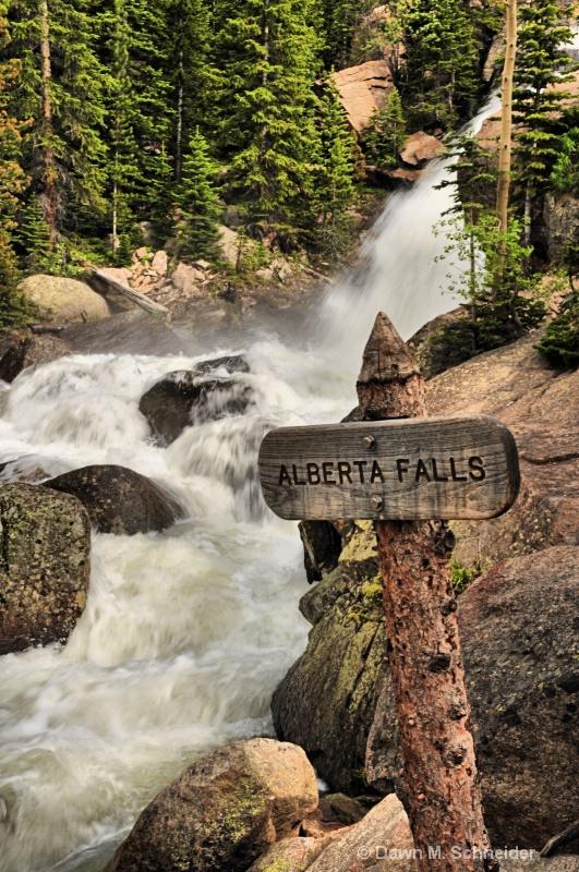 Alberta Falls in Colorado