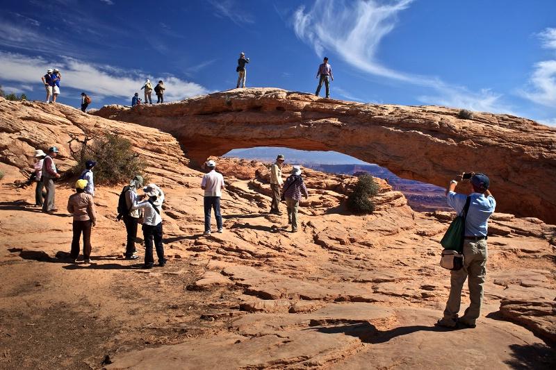 Mesa Arch Mayhem - ID: 12032903 © Patricia A. Casey